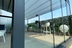 Dehors BESTENDE con vetrate panoramiche Tomei e arredamento MOWEE