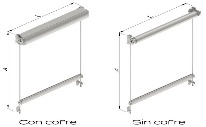 Con cofre / Sin cofre